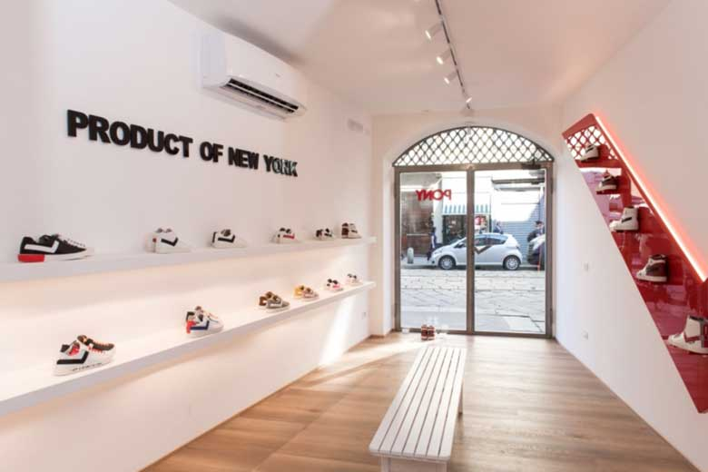 Inside the new Pony Flagship Store in Milan, photo credits Carryover / Pony
