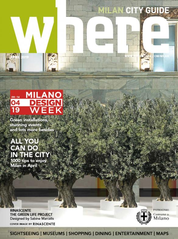Cover Where Milann 102 April 2019