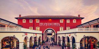 The facade of Franciacorta Outlet Village