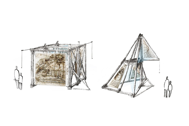 A project from Leonardo. The Machine of Imagination