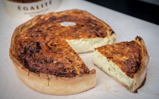 A French 'quiche Lorraine' by Egalité