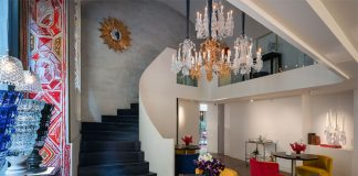 The new Baccarat Boutique, Bbar, Lounge