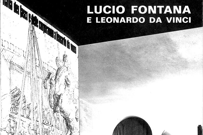 Lucio Fontana. Tribute to Leonardo