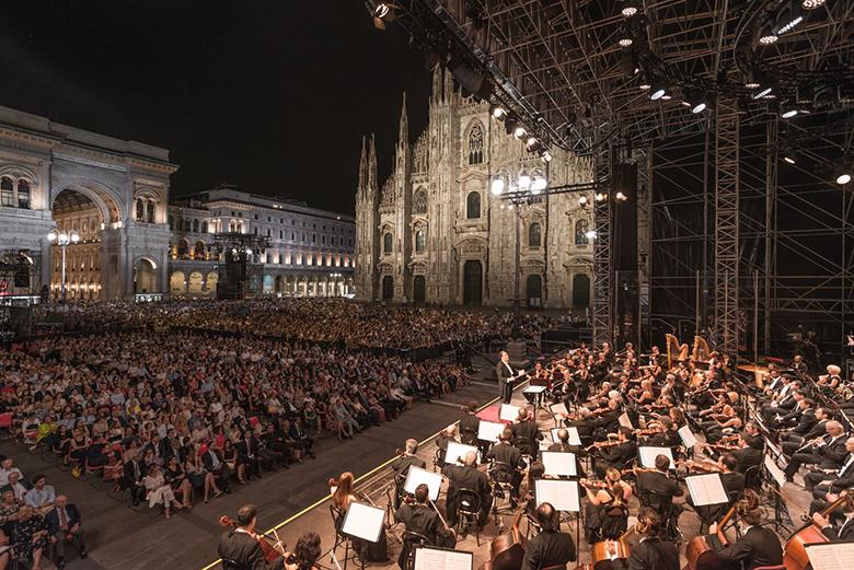 The Concerto per Milano free concert in 2018