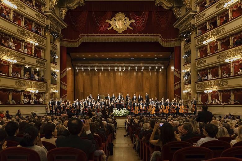Concert by laVerdi at La Scala Opera Theatre, photo credits Fournillier and Tharoaud