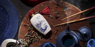 The Blue Tea perfume by The Merchant of Venice