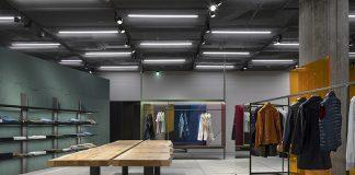 Inside the Aspesi Flagship Store