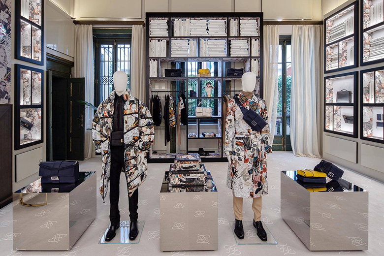 Inside the new Fendi pop up store