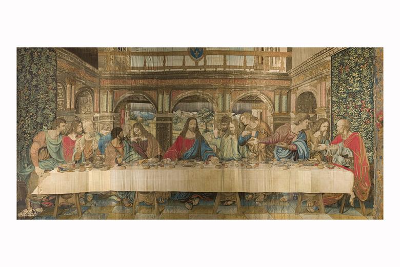 The Vatican tapestry by Leonardo da Vinci