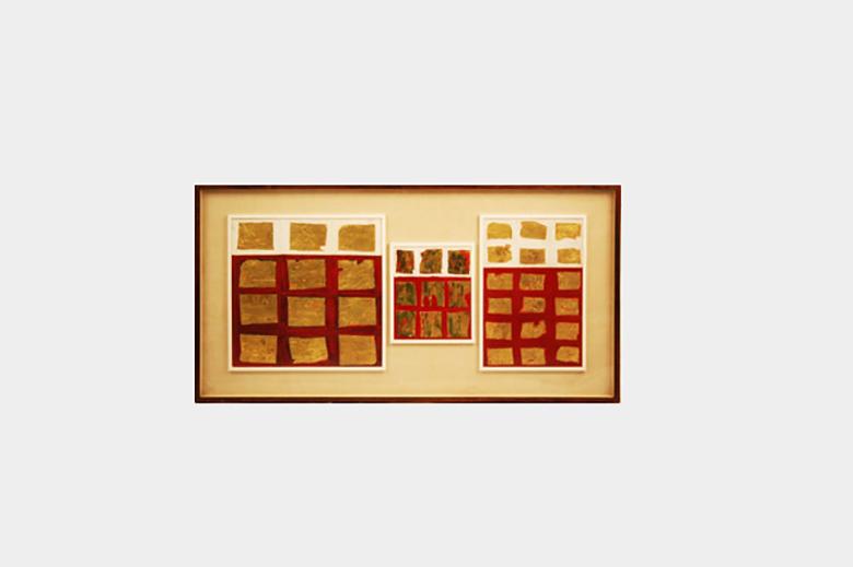 Tableau Doré - Senza titolo1957, Museo 900