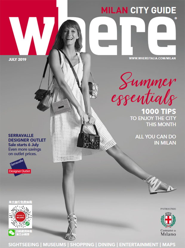 Cover Where Milan n 105 July 2019
