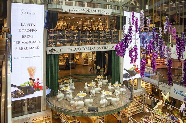 Inside Milan's Eataly Smeraldo