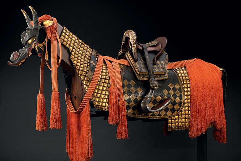 A horse's harmour by a Japanese manufacture of the EDO period (1603-1868). (c) MUDEC - Museo delle Culture