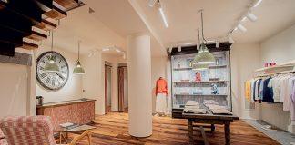 Inside the new Fedeli store in Milan