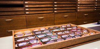 Precious glasses at Ottica Chierichetti