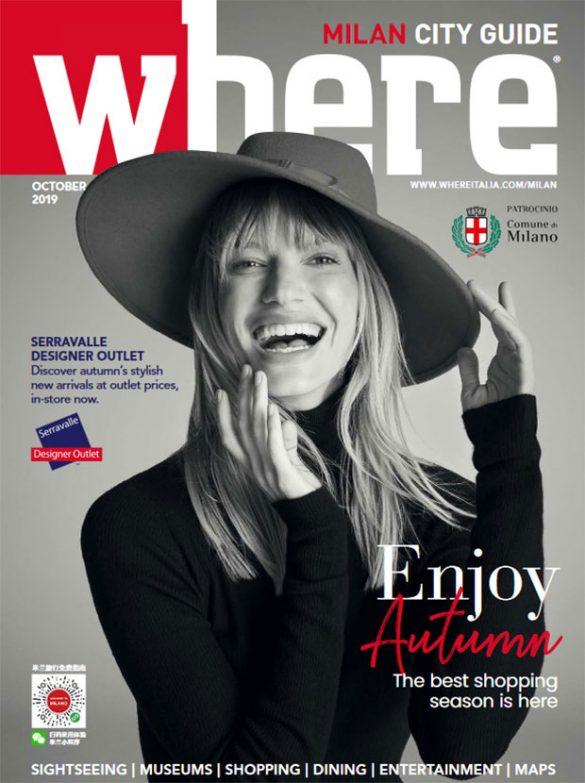 Where Milan October 2019 Cover Serravalle