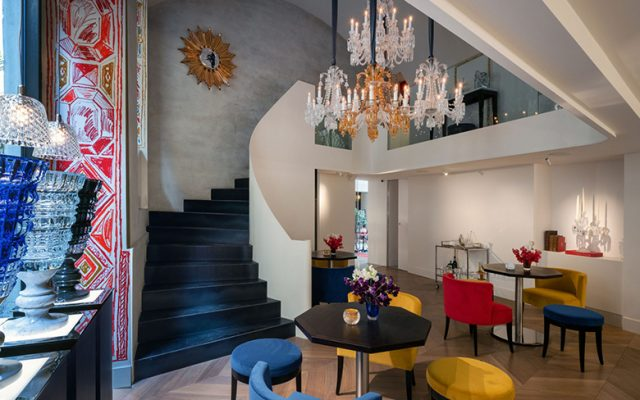 Inside Baccarat Boutique Bbar and Lounge