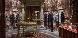 Inside the new Dolce&Gabbana boutique