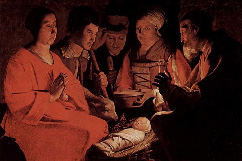 The Adoration of the Shepherds, Georges de La Tour, Musée du Louvre - Paris