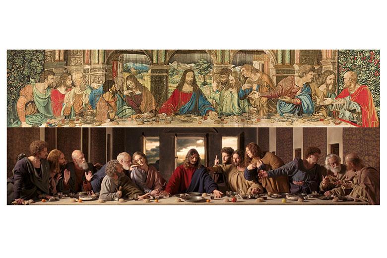 Exhibition 39 il cenacolo ispirazione senza tempo 39 where for Senzatempo milano