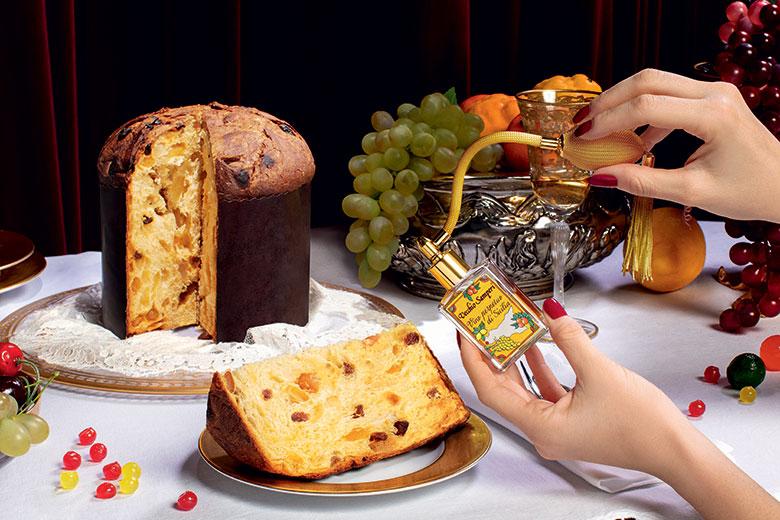 A Dolce&gabbana branded panettone by Fiasconaro