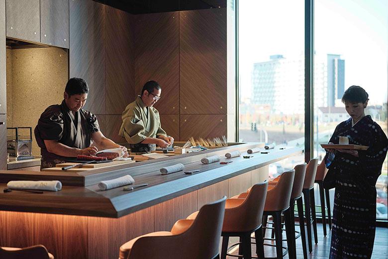 Iyo Aalto - Banco Sushi
