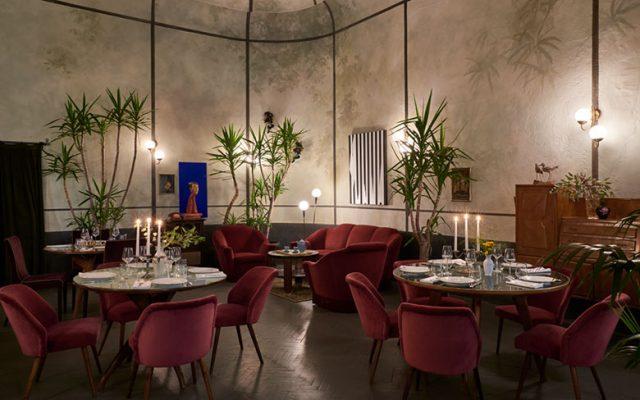 The restaurant at Apollo Club