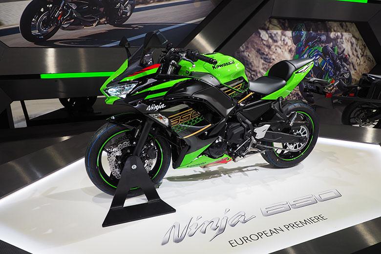 Kawasaki Ninja 650 at EICMA 2019, photo credits (c) Gminero - Where Milan