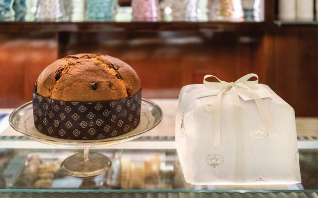 Panettone by Marchesi 1824, from the Prada group