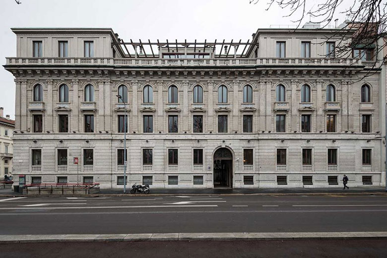 Palazzo Bernasconi, the future home to Cipriani