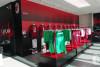 Official AC Milan merchandising at Casa Milan