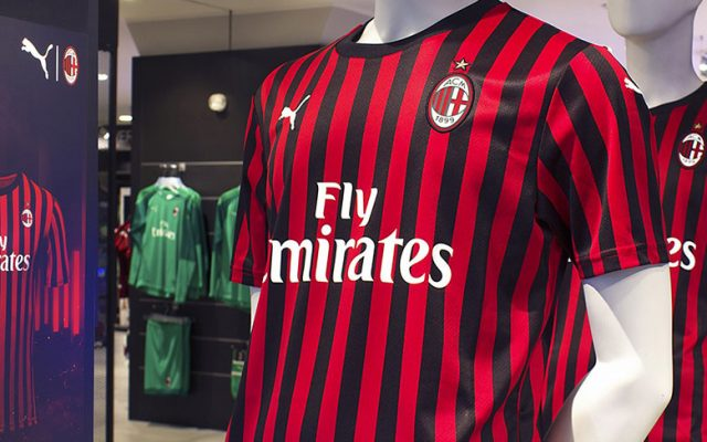 AC Milan jerseys at San Siro Store