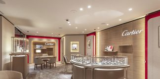 Espace Cartier at Pisa Orologeria Flagship Store