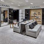 The new Chanel shoe corner at Rinascente