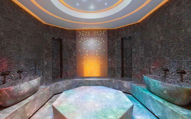 Turkish bath at the Shiseido Spa