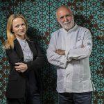 Stefania Lattuca, Manager of Terrammare, and Chef Peppe Barone