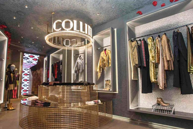 The new Collini Milano 1837 Flagship Store