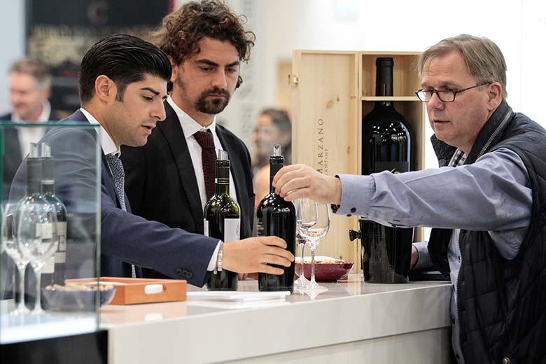 Wine tasings at Vinitaly
