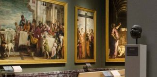 Inside the Brera Art Gallery