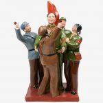Maoist statues at East Market