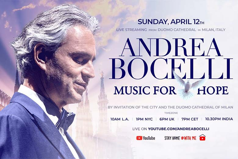 Andrea Bocelli, Music for Hope