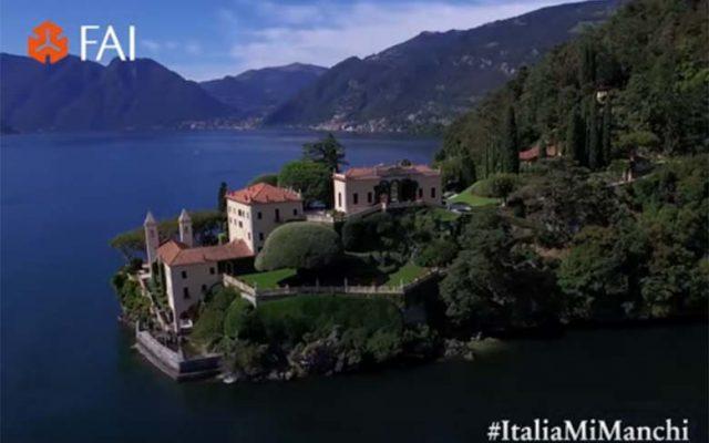 Virtual tours of Villa del Balbianello