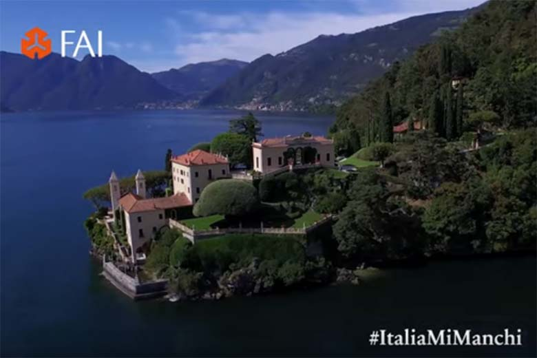 Virtual tours of Villa del Balbianello