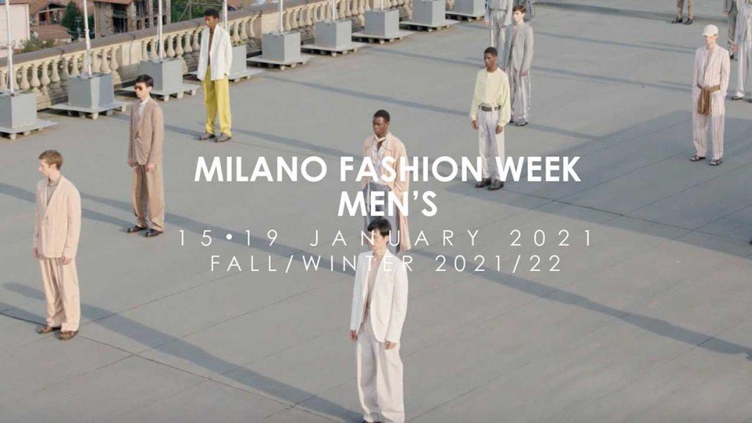 Milano Fashion Week Men's, January 2021