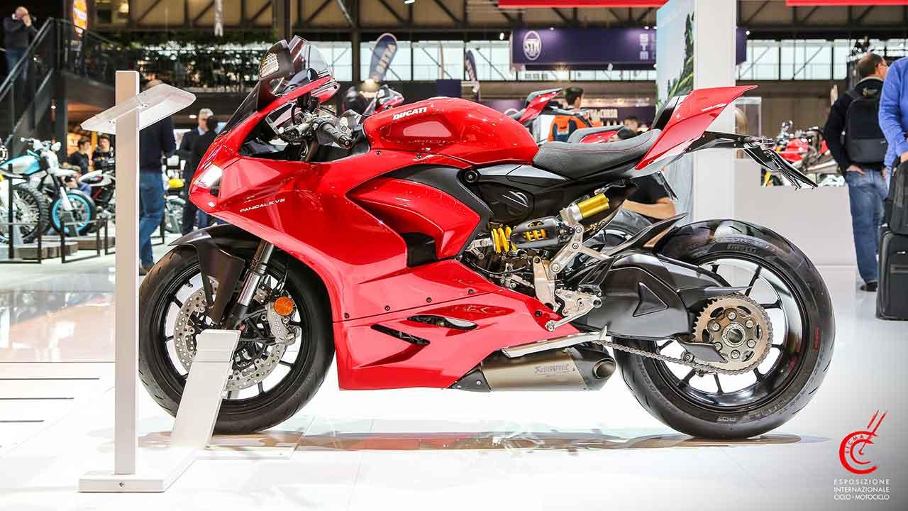 The Ducati stand at EICMA 2019. Photo credits Courtesy EICMA
