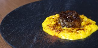 Milanese-style risotto with ossobuco by L'Alchimia