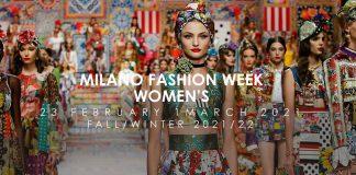 Milano Fashion Week Women's, February 2021