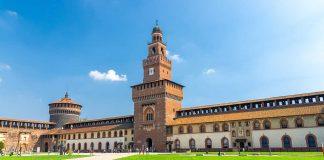 Castello Sforzesco, in Milan (c) Shutterstock.com