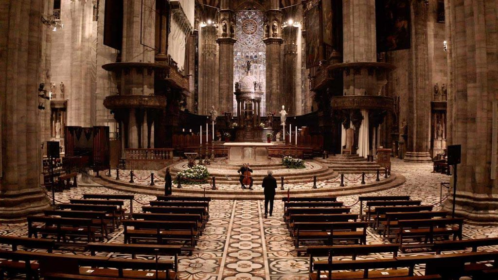 One of the lectures of the Dante in Duomo programme
