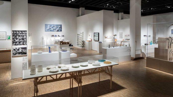 The installation at Triennale di Milano © Triennale Milano foto Gianluca Di Ioia